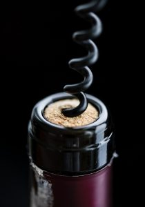 Wine Serving tip - Get a good corkscrew and learn how to open the wine properly